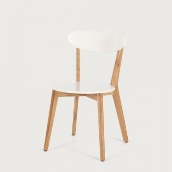 Duvall Dining Chair, White