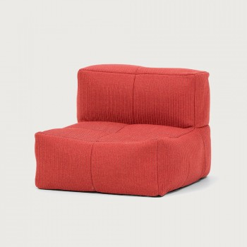 Cloud Outdoor Single Seat, Flame