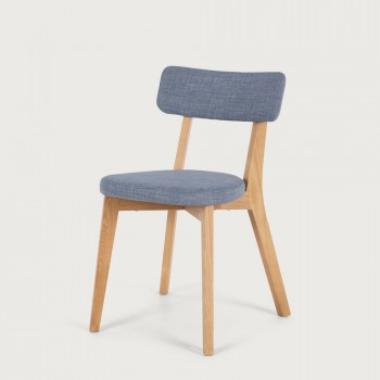 Duvall Fabric Dining Chair, Blue